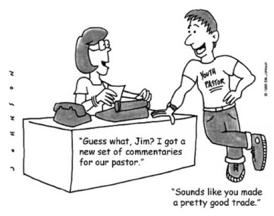 CARTOON MONDAY! TRADING FOR PASTOR?