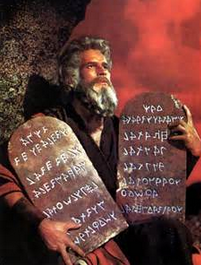 Isn't it amazing how much Moses looks like Charlton Heston?